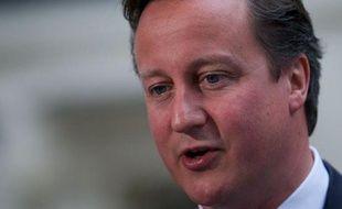 Le Premier ministre britannique David Cameron s'est amusé des soupçons français après la razzia britannique en cyclisme sur piste aux jeux Olympiques de Londres, en rappelant notamment que les roues de son équipe étaient fabriquées en France.