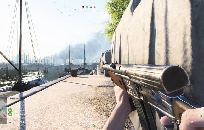 Rotterdam, une des huit cartes disponibles dans le jeu.