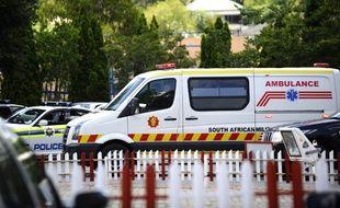 Une ambulance en Afrique du Sud en 2011 (image d'illustration).