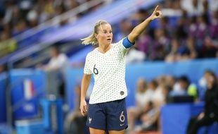 Amandine Henry, la capitaine de l'équipe de France.