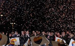 Autre grand vainqueur du scrutin, le parti constitutionnaliste Ciudadanos.