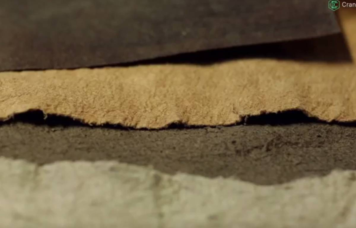 Le cuir d'ananas est produit par l'entreprise Pinatex – Screenshot Youtube.com