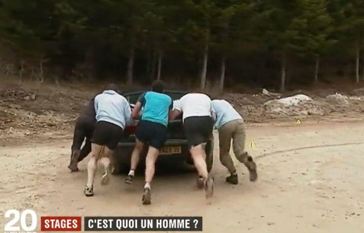 Capture d'écran du reportage diffusé sur France 2 sur la virilité – Capture / France 2