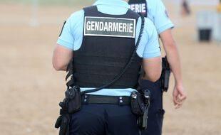 Des gendarmes (illustration)