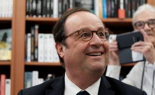 François Hollande, le 28 juin 2018 à Alençon.