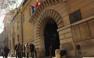 Le tribunal de Versailles.