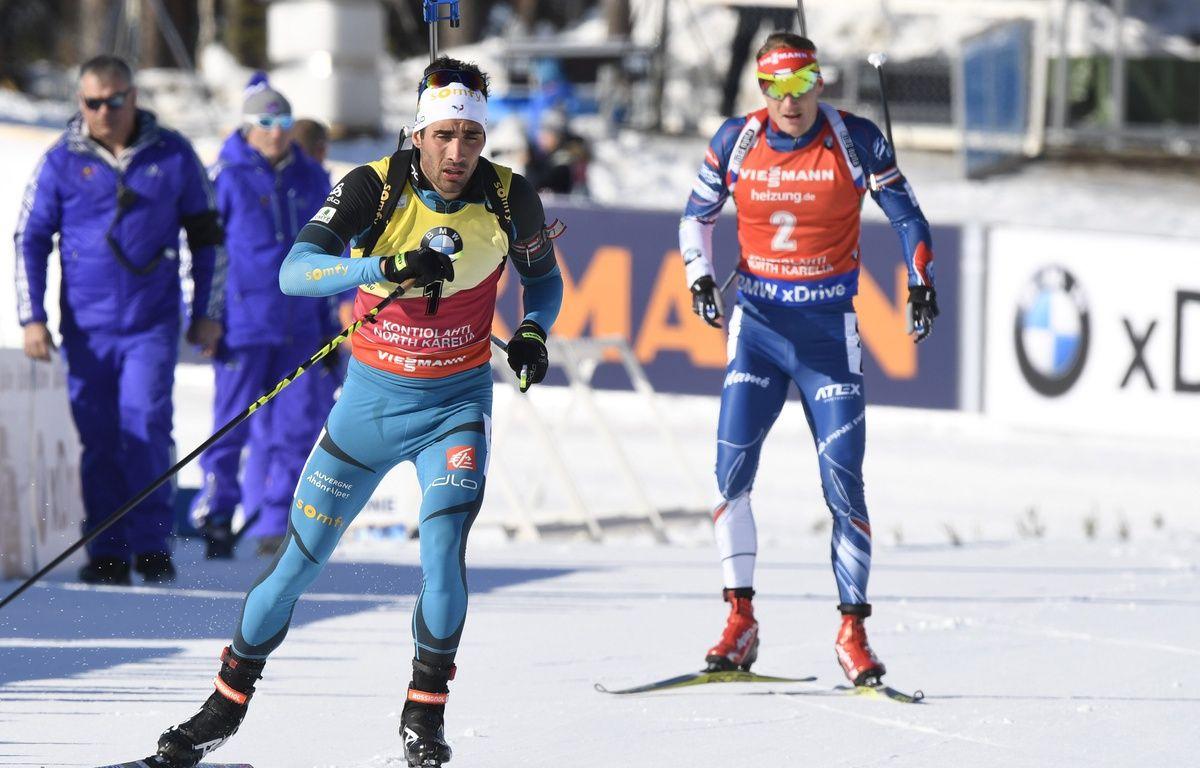 Fourcade, termine 5e de la poursuite de Kontiolahti en Finlande – HEIKKI SAUKKOMAA / LEHTIKUVA / AFP