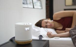 Le système développé par Moona régule la température de l'oreiller de son utilisateur.