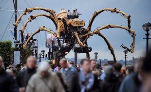 L'araignée Kumo à Liverpool en 2008