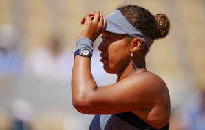 Naomi Osaka lors de son premier tour à Roland-Garros, le 30 mai 2021.