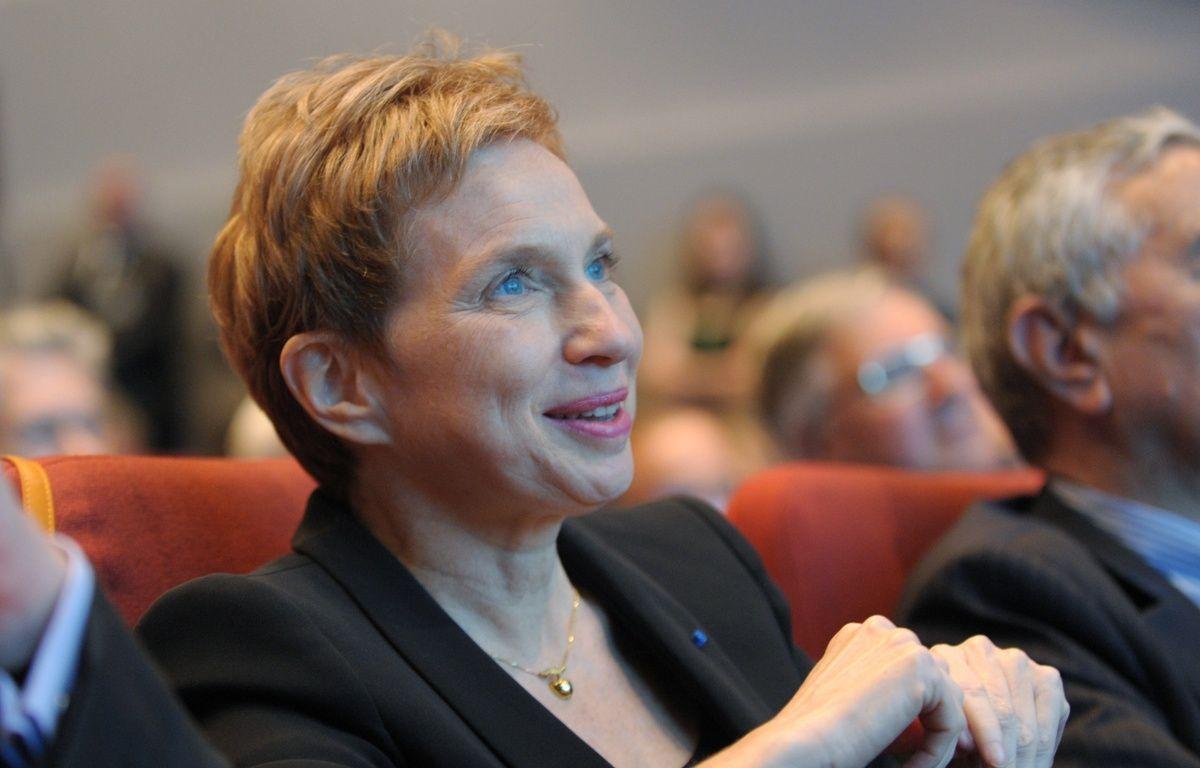 Laurence Parisot, l'ancienne présidente du Medef, en juillet 2013. – ERIC PIERMONT / AFP