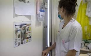 Photo d'illustration du personnel médical durant la période d'épidémie du Covid-19 en France.