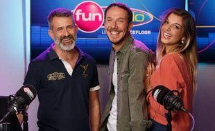 L'équipe de «Lovin'Fun» pour la saison 2018 - 2019 : le «Doc» Wilfried Pavageau, Karel et Alice.
