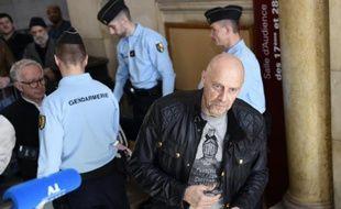 L'essayiste d'extrême droite Alain Soral, au tribunal de Paris le 12 mars 2015