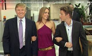 Donald Trump, en 205, dans l'émission «Access Hollywood»