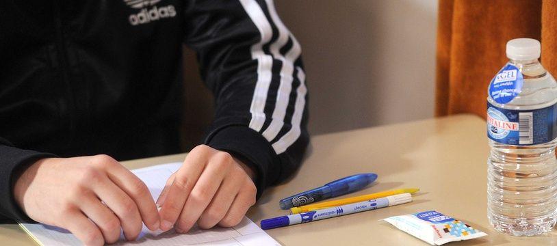 Un étudiant malvoyant a demandé une adaptation de l'épreuve de synthèse à l'examen d'accès à la formation d'avocats. Illustration