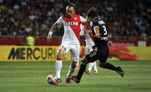 Dimitar Berbatov en échec face à Lorient, le 9 août 2014 à Louis II.
