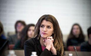 Marlène Schiappa, secrétaire d'Etat à l'égalité hommes-femmes, le 19 mars 2018 à Paris.