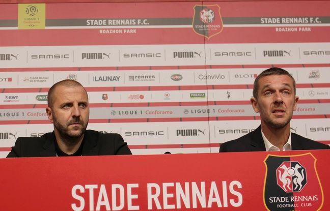 Stade Rennais:«Je pensais que ce serait impossible de convaincre Florian Maurice» avoue Nicolas Holveck
