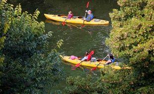 L'accident s'est produit lors d'une sortie familiale sur la Dordogne (image d'illustration).