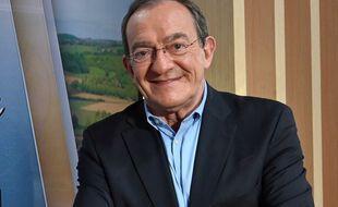 Jean-Pierre Pernaut en mai 2021 sur le plateau de LCI