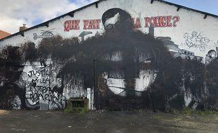 La fresque en hommage à Steve Maia Caniço a été dégradée à Nantes