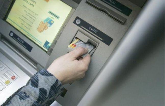 Un distributeur de billets