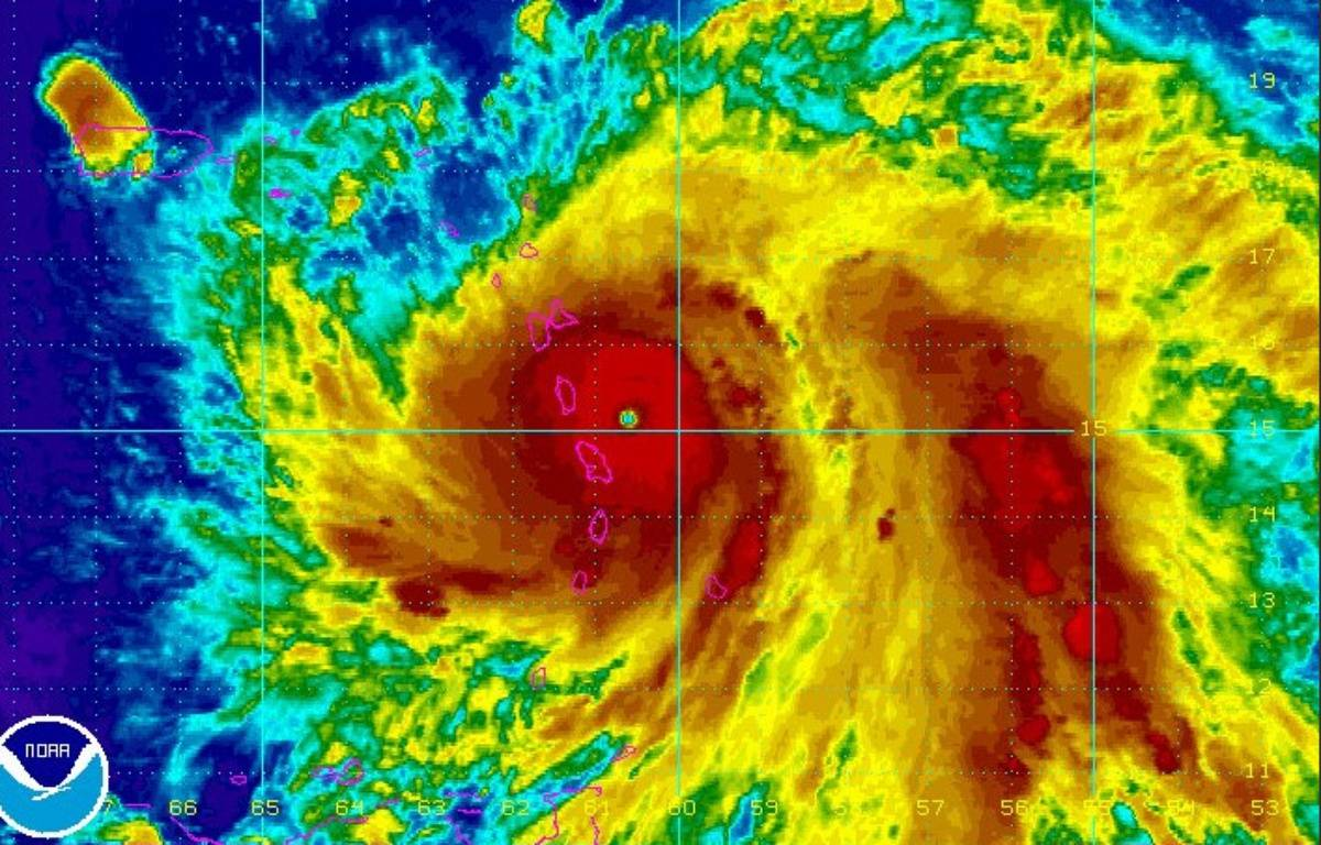Vue radar de l'ouragan Maria. – NHC