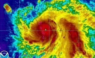 Vue radar de l'ouragan Maria.