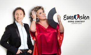 Stéphane Bern et Marianne James commenteront la finale de l'Eurovision, le 23 mai en Autriche.