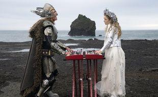 Will Ferrell et Rachel McAdams dans Eurovision Song Contest: The Story of Fire Saga.