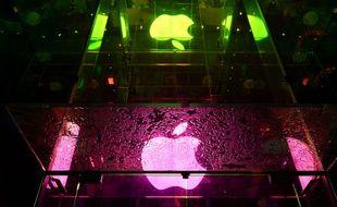 Une boutique de la firme Apple. (illustration)