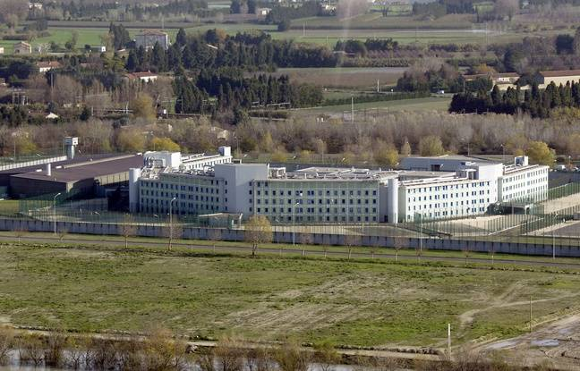 La prison de Tarascon, en 2003.
