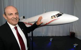 Eric Trappier, PDG de Dassault, le 16 octobre 2015 à Mérignac