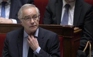 Le ministre du Travail, François Rebsamen, le 25 mars 2015 à Paris