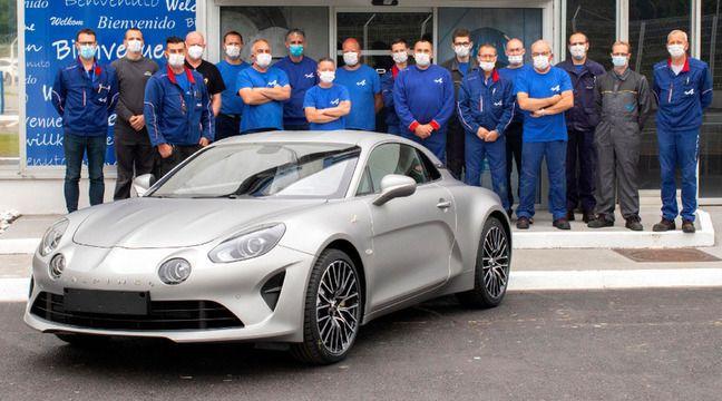 Dieppe : La gendarmerie nationale commande 26 Alpine A110 pour renouveler sa flotte automobile