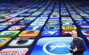 Selon le patron d'Apple, Tim Cook, l'App store a passé le cap des 170 milliards de téléchargement en 2018.
