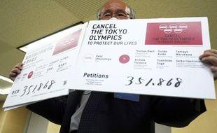 Une pétition demandant l'annulation des JO connaît un grand succès populaire au Japon.