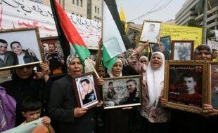 """Plus de 11.000 Palestiniens sont actuellement détenus dans les prisons israéliennes, dont 11 considérés comme """"très malades"""", selon l'Autorité palestinienne."""