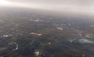 Image prise par un avion de la marine argentine pendant les recherches, le 21 novembre 2017.