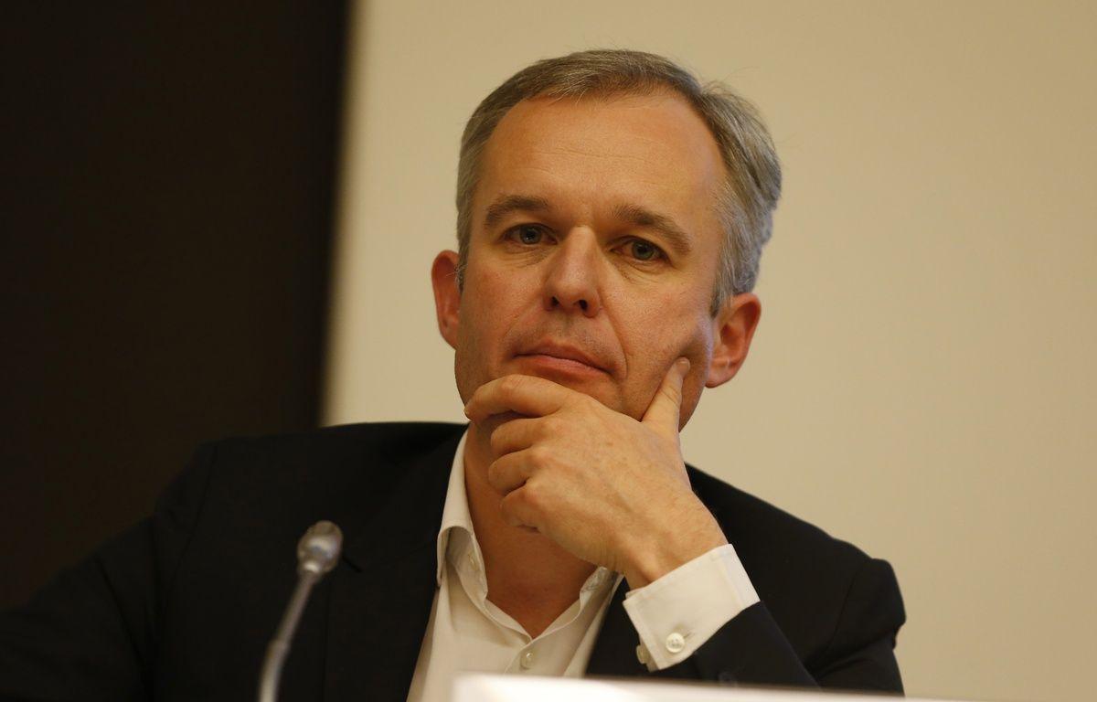François de Rugy, 42 ans, président du nouveau part Ecologistes! – T.Samson/AFP