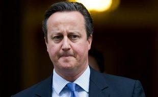 Le Premier ministre britannique David Cameron le 2 décembre 2015 à Londres