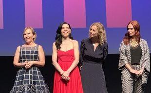 Marti Noxon, Julianna Margulies, Delphine de Vigan et Audrey Fleurot, les drôles de dames du jury de Séries Mania 2019.