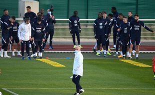 Les Bleus sont arrivés mercredi à Clairefontaine pour entamer leur préparation à l'Euro 2021.