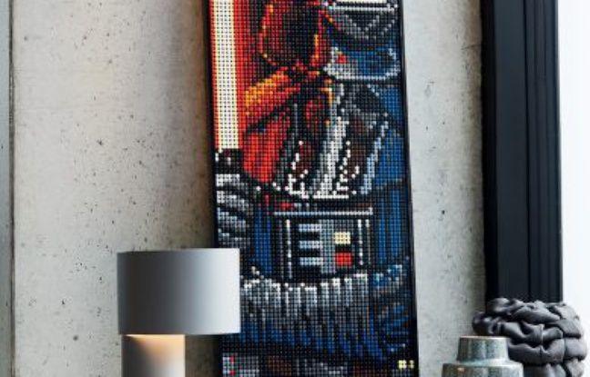 Lego lance une ligne de posters en briquettes
