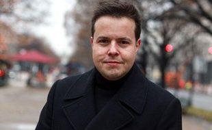 Nicolas Demorand, le 9 novembre 2009 à Berlin.