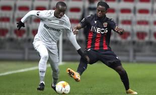 Hassane Kamara et Moussa Diaby, deux buteurs de la rencontre