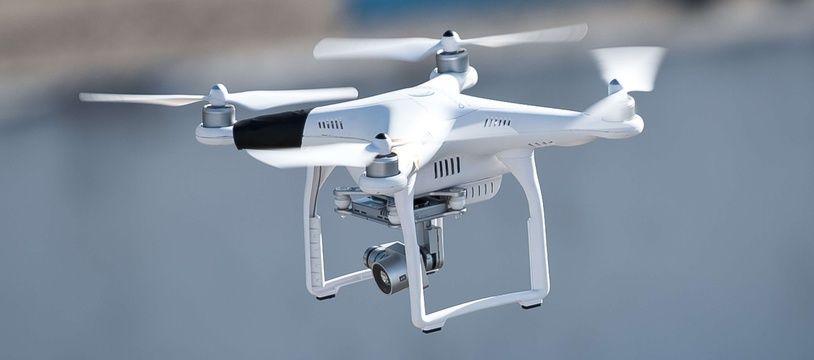 Illustration d'un drone.