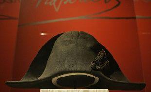 Ce bicorne ayant appartenu à Napoléon a été présenté dans une exposition aux Etats-Unis.