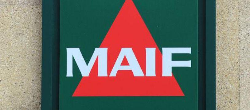 Le logo de la Maif en décembre 2011.